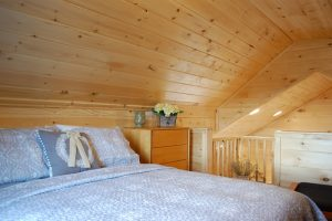 The Loft at Blue Sky Ranch mountain view cabin in Stanley, VA